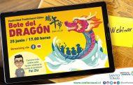 Invitan a ovallinos a conocer tradicional fiesta china del Bote del Dragón a través de video conferencia