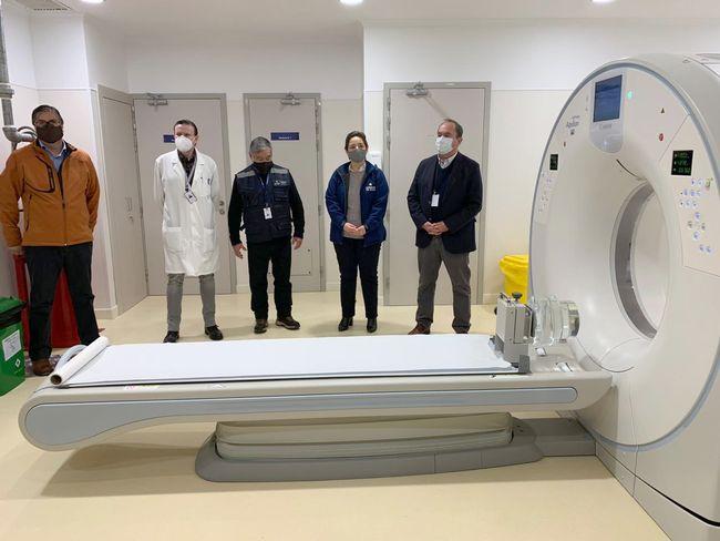 Hospital Provincial de Ovalle tiene el escáner más moderno de la región