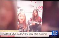 Video de pequeña ovallina cantando