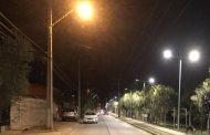 Iluminan amplio sector de Villa El Ingenio