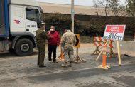 Autoridades fiscalizan puntos de control y accesos en primeras horas de cuarentena en Ovalle
