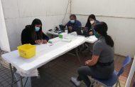 Hasta el viernes 4 los ovallinos podrán realizarse exámenes PCR en la alameda