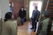 Municipio entrega ayuda social a adultos mayores en medio de la cuarentena