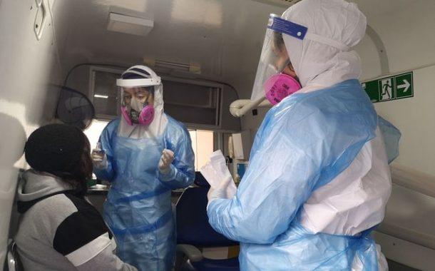 Equipos del departamento de Salud continúan realizando exámenes PCR gratuitos en Ovalle