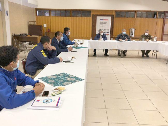 Afinan detalles para plebiscito 2020 en la provincia de Limarí