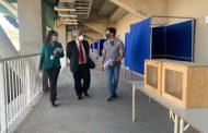 Municipio prepara locales de votación para el plebiscito del 25 de octubre en Ovalle