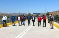 Rehabilitan puente de Socos tras trabajos de mejoramiento