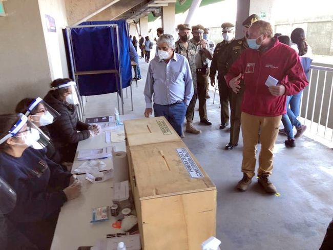 Autoridades regionales visitaron local del Estadio Diaguitas de Ovalle
