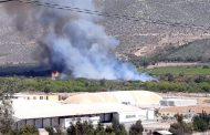 Declaran Alerta Amarilla para la comuna de Ovalle por incendio forestal