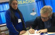 Jóvenes de Monte Patria aprenden de astronomía junto a Premio Nacional de Ciencias Exactas