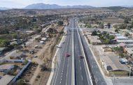 Ejecutan obras de mantenimiento en calle de servicio del sector Recoleta de la Ruta D-43