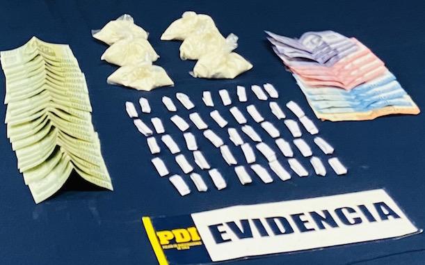 Procedimiento policial en Tongoy pone fuera de circulación punto de venta de drogas