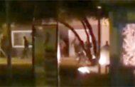 Turba de encapuchados ataca por segunda vez Tenencia de Carabineros de Tongoy