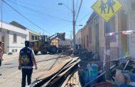 Concurren en ayuda de familias damnificadas por incendio que destruyó tres viviendas