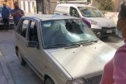 Joven trabajador rompió los vidrios del auto de su ex patrón