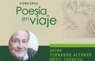 Poeta ovallino recibió su premio en concurso Poesía en Viaje
