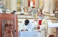 Nuevo sacerdote asumió la conducción pastoral de las parroquias de Monte Patria y Carén