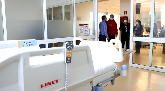 Anuncian la apertura de 12 nuevas camas críticas en el Hospital de Ovalle
