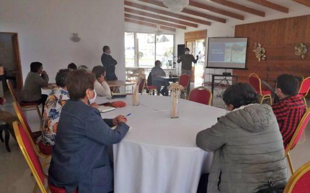 Presentan Plan de Racionamiento de agua potable a dirigentes sociales de Illapel