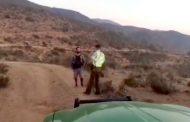 Rescatan a hombre que llevaba dos días perdido en cerros de Canela