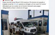 Molestia en redes sociales por cobro de peaje a vehículo de Conaf que concurría a emergencia