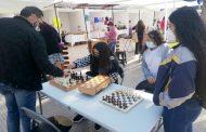 Vuelve la actividad de ajedrez a la Plaza de Armas de Ovalle