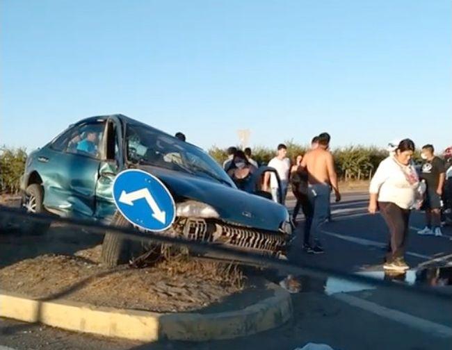 Fallece una de las accidentadas en colisión de ayer en cruce de San Julián