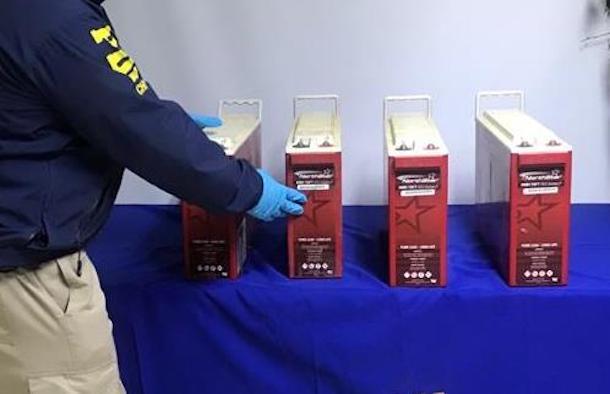 Recuperan baterías necesarias para la comunicación y electricidad comunidades rurales