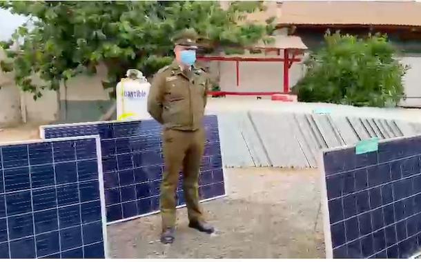 Carabineros recupera 105 paneles solares avaluados en diez millones