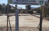 Inician construcción de Sala de Bombas para la Sexta Brigada de Bomberos de Manquehua