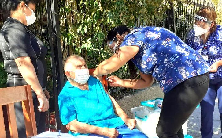 Comienza la administración de segundas dosis por vacunación masiva contra el Covid