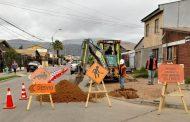 Aguas del Valle inicia segunda etapa de renovación de red de alcantarillado en Avenida Romeral en Ovalle