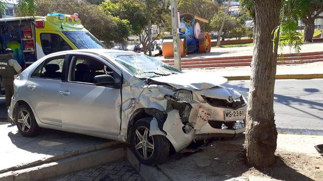 """Lector aclara el """"extraño accidente"""" ocurrido el domingo en la Alameda"""