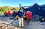 Recuperan maquinaria agrícola que fue robada desde un predio en Ovalle