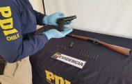 PDI incauta armas y municiones en sector La Placa de la comuna de Ovalle