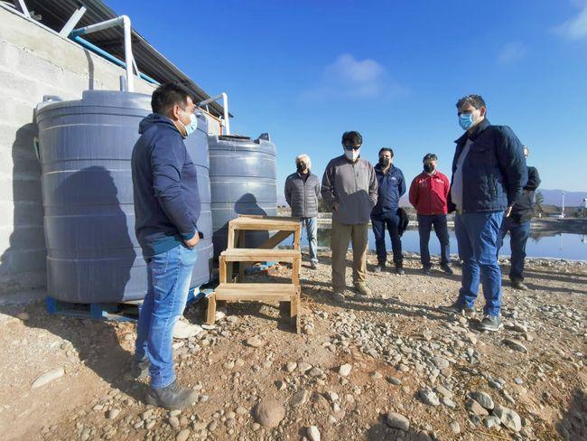 Entregan bonificación por más de $78 millones para obra de riego de Ovalle