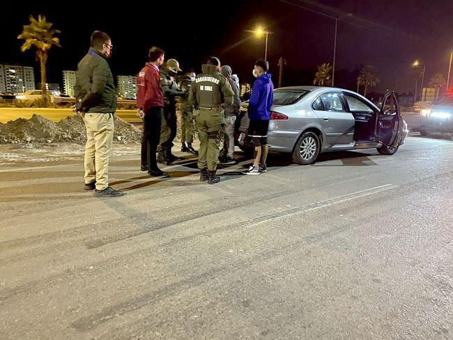 Realizan ronda policial extraordinaria para abordar carreras clandestinas : seis detenidos
