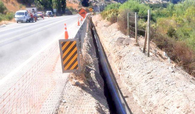 Aguas del Valle inicia obras claves para entregar seguridad hídrica a Salamanca