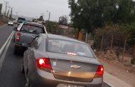 Taco de proporciones y poco personal en control policial hacia Limarí