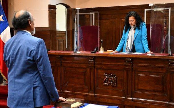 Sergio Troncoso jura como ministro titular de la Corte de Apelaciones de La Serena