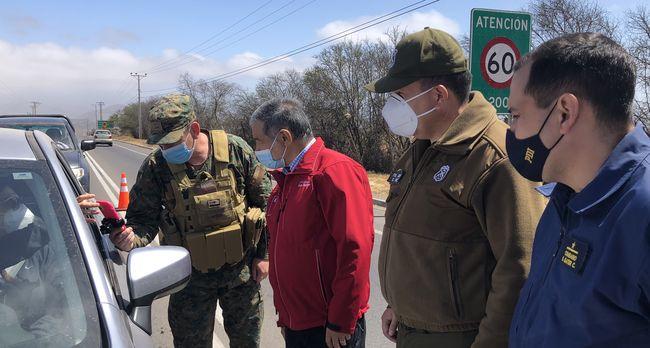 Casi un centenar de detenidos por infracciones sanitarias durante la cuarentena en Ovalle