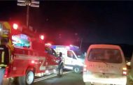 ÚLTIMA HORA: Colisión múltiple en ruta de sector Embalse La Paloma