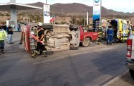 Violenta colisión en sector intersección Ariztía y Avenida Costanera