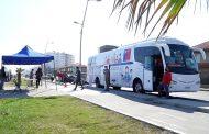 Más de 400 muestras ha realizado el Bus de Antígenos a nivel regional