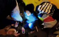 Nueva fiesta clandestina: Se escondieron entre frazadas para no ser descubiertos